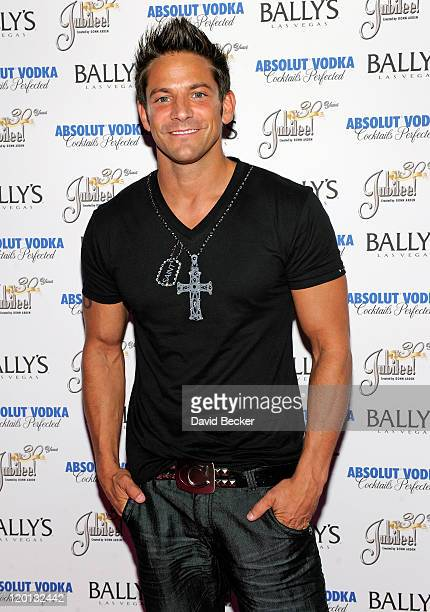 Singer Jeff Timmons of 98 Degrees arrives for the 30th anniversary celebration of Jubilee at Bally's Las Vegas on July 30 2011 in Las Vegas Nevada