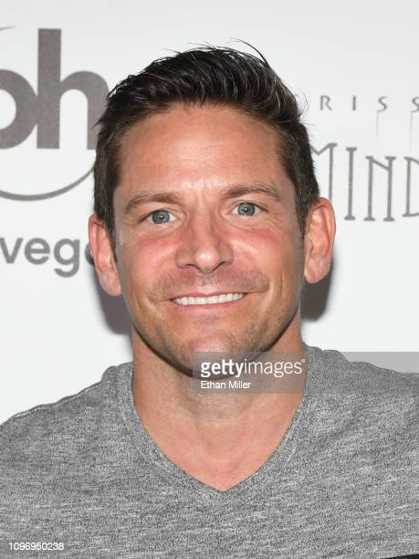 Singer Jeff Timmons of 98 Degrees attends the grand opening of 'Criss Angel MINDFREAK' at Planet Hollywood Resort Casino on January 19 2019 in Las...