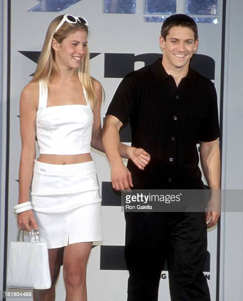 Singer Jeff Timmons of 98 Degrees attends YM's Spring/Summer Fashion Show on April 20 1999 at Macy's Herald Square in New York City
