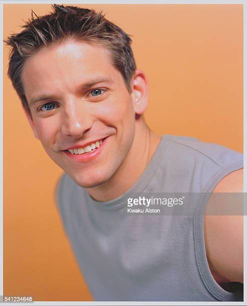 Singer Jeff Timmons of 98 Degrees is photographed for YM Magazine in 2000 in Los Angeles California Photo by Kwaku Alston/Corbis via Getty Images