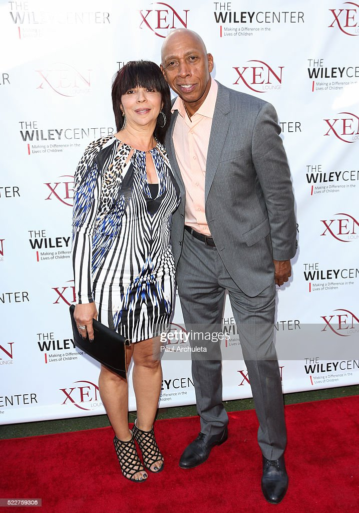 Singer Jeffrey Osborne (R) attends the benefit for children with autism at Xen Lounge on April 17, 2016 in Studio City, California.