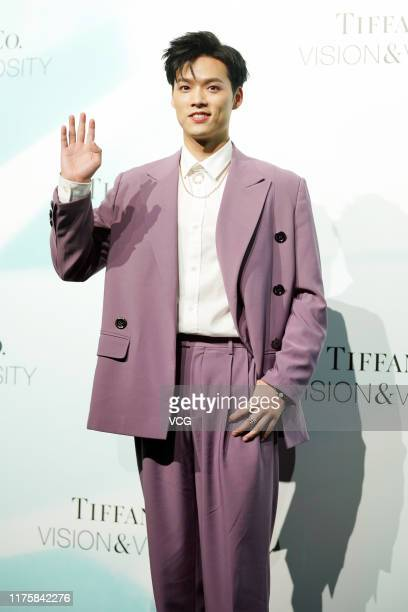 Singer Jeffrey Tung attends Tiffany Co 'Vision Virtuosity' exhibition for celebrating the brand's 180 years of artistry on September 18 2019 in...