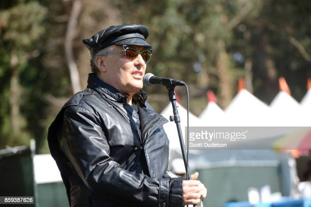 Singer Jello Biafra of The Dead Kennedys performs onstage during Hardly Strictly Bluegrass festival at Golden Gate Park on October 8 2017 in San...