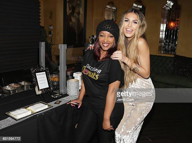 Singer Jena Rose celebrates her Birthday At Bardot on January 12 2017 in Hollywood California