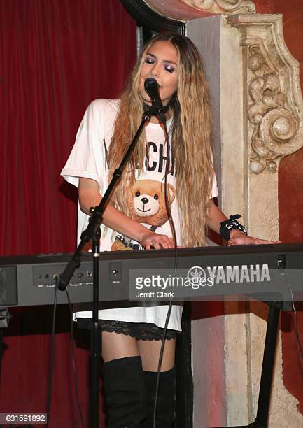 Singer Jena Rose performs during her Birthday Celebration At Bardot on January 12 2017 in Hollywood California