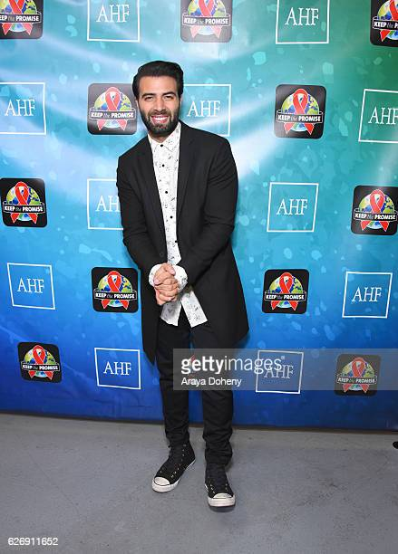 Singer Jencarlos Canela attends AIDS Healthcare Foundations Keep the Promise Concert at the Dolby Theatre in Hollywood CA on November 30 2016 The...