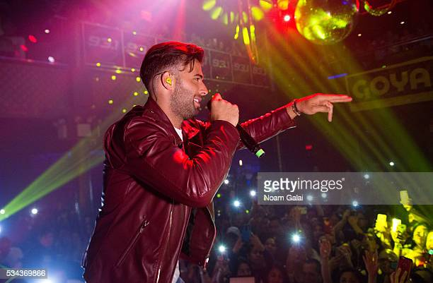 Singer Jencarlos Canela performs in concert at Stage 48 on May 25 2016 in New York City