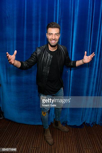 Singer Jencarlos Canela poses backstage at Stage 48 on May 25 2016 in New York City