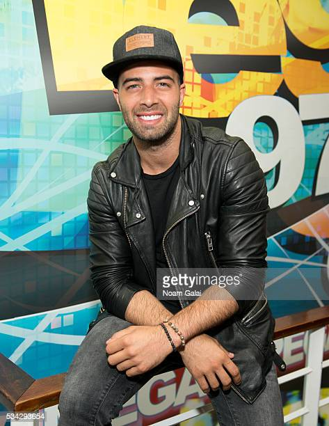 Singer Jencarlos Canela visits 931 AMOR at SBS Radio New York on May 25 2016 in New York City