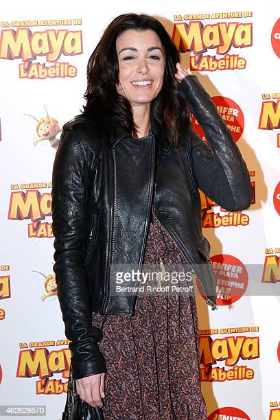 Singer Jenifer attends the 'Maya The Bee La Grande Aventure De Maya L'Abeille' Paris Premiere at UGC Cine Cite Bercy on February 1 2015 in Paris...