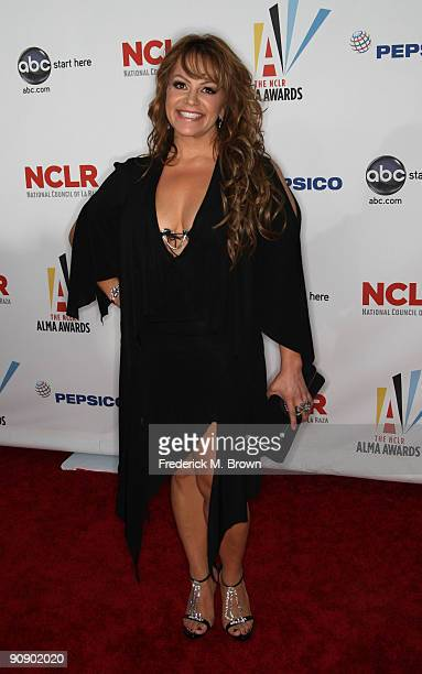 Singer Jenni Rivera arrives at the 2009 ALMA Awards held at Royce Hall on September 17 2009 in Los Angeles California