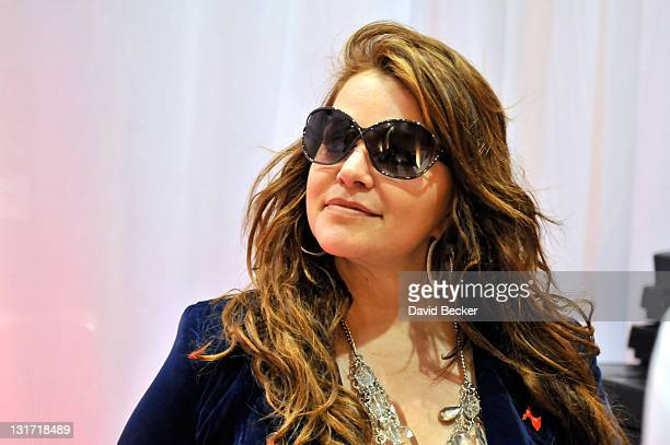 Singer Jenni Rivera attends the 11th Annual Latin GRAMMY Awards Gift Lounge held at the Mandalay Bay Events Center on November 11 2010 in Las Vegas...