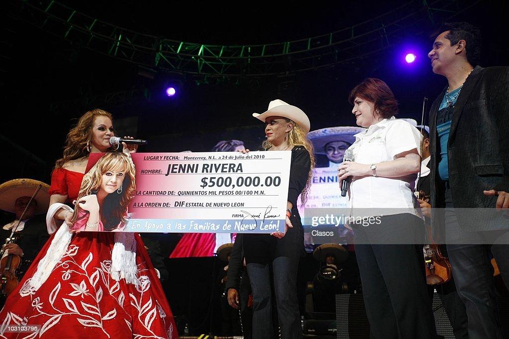 Jenni Rivera Plays Monterrey : News Photo