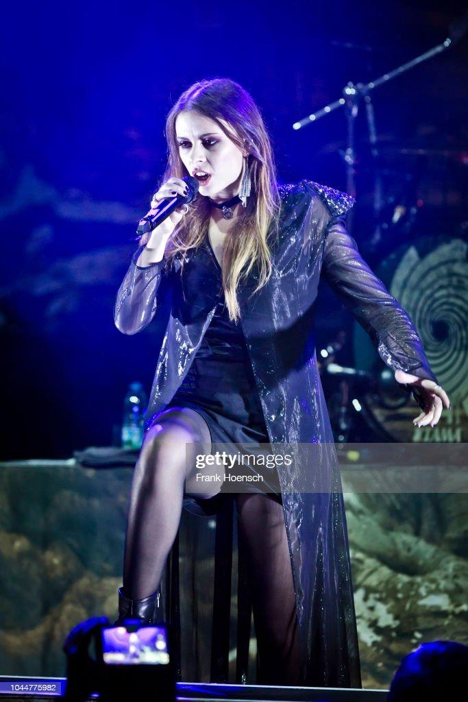 Singer Jennifer Haben of the German band Beyond the Black ...  Singer Jennifer...