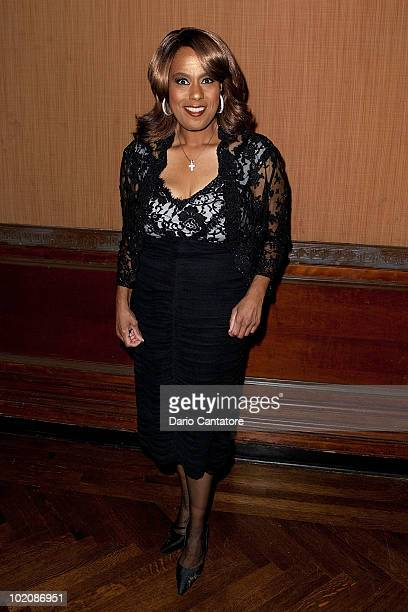 Singer Jennifer Holliday attends the 2010 Urban Community Services Giving Green Benefit at the Prince George Ballroom on June 14 2010 in New York City