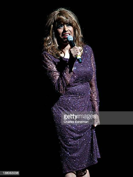 Singer Jennifer Holliday performs at The Apollo Theater's 78th Season Of Amateur Night Opening Night With Jennifer Holliday at The Apollo Theater on...