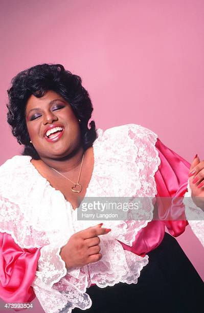 Singer Jennifer Holliday poses for a portrait in 1983 in Los Angeles California