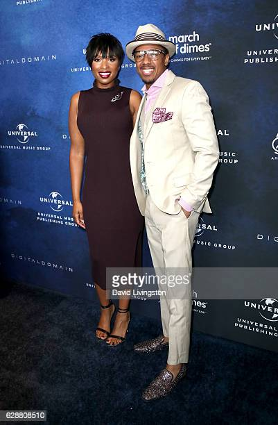Singer Jennifer Hudson and tv personality Nick Cannon attend the 2016 March of Dimes Celebration of Babies at the Beverly Wilshire Four Seasons Hotel...