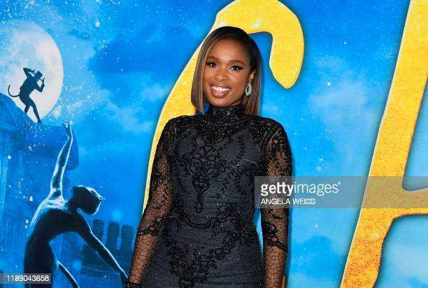 US singer Jennifer Hudson arrives for the world premiere of Cats at the Alice Tully Hall in New York City on December 16 2019