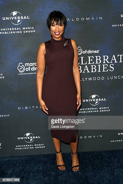 Singer Jennifer Hudson attends the 2016 March of Dimes Celebration of Babies at the Beverly Wilshire Four Seasons Hotel on December 9 2016 in Beverly...