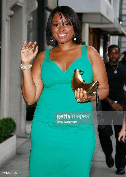 Singer Jennifer Hudson attends the grand opening of the Kwiat flagship boutique on Madison Avenue on September 3 2008 in New York City