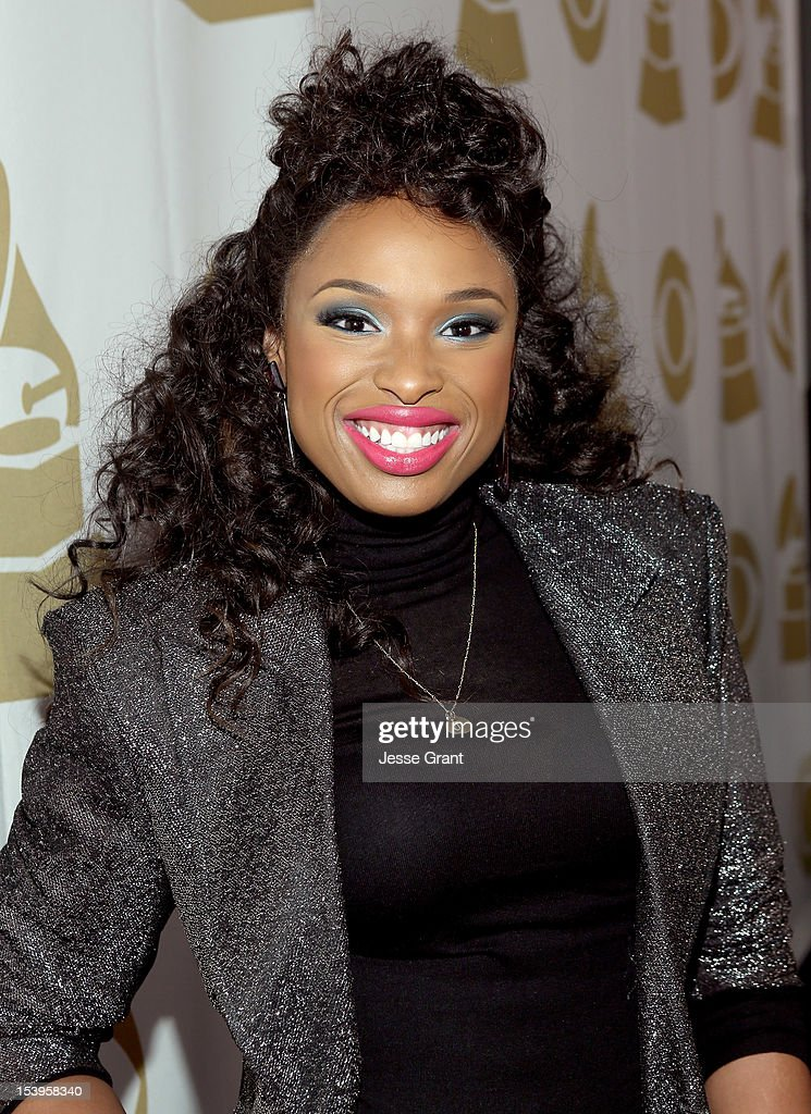 Singer Jennifer Hudson attends 'We Will Always Love You: A GRAMMY Salute to Whitney Houston' at Nokia Theatre L.A. Live on October 11, 2012 in Los Angeles, California.