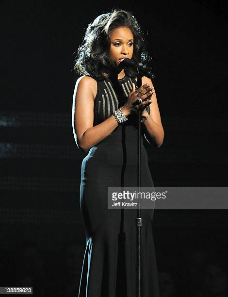 Singer Jennifer Hudson performs onstage at the 54th Annual GRAMMY Awards held at Staples Center on February 12, 2012 in Los Angeles, California.