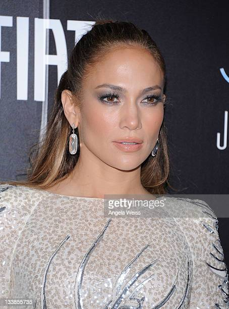 Singer Jennifer Lopez arrives to her 2011 American Music Awards PostParty at Greystone Manor Supperclub on November 20 2011 in Los Angeles California