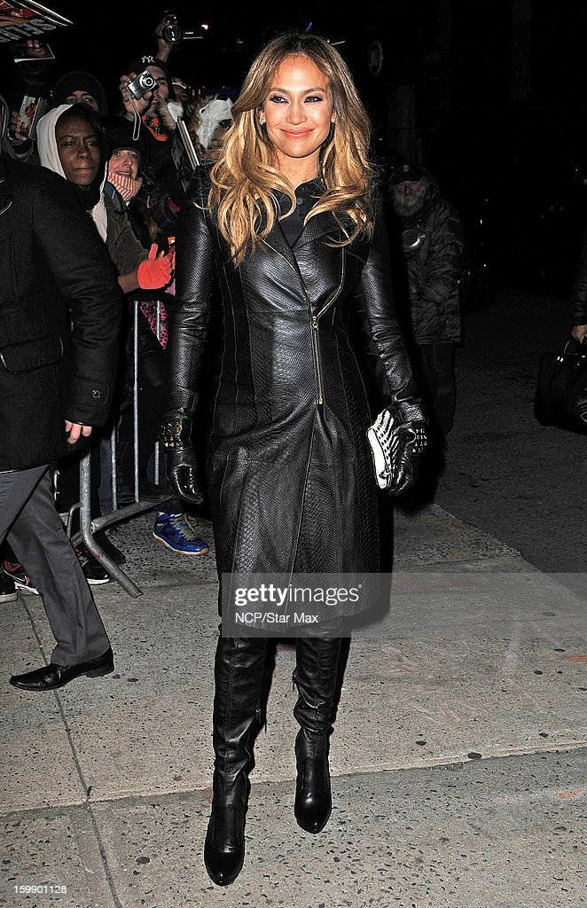 Singer Jennifer Lopez as seen on January 22, 2013 in New York City.