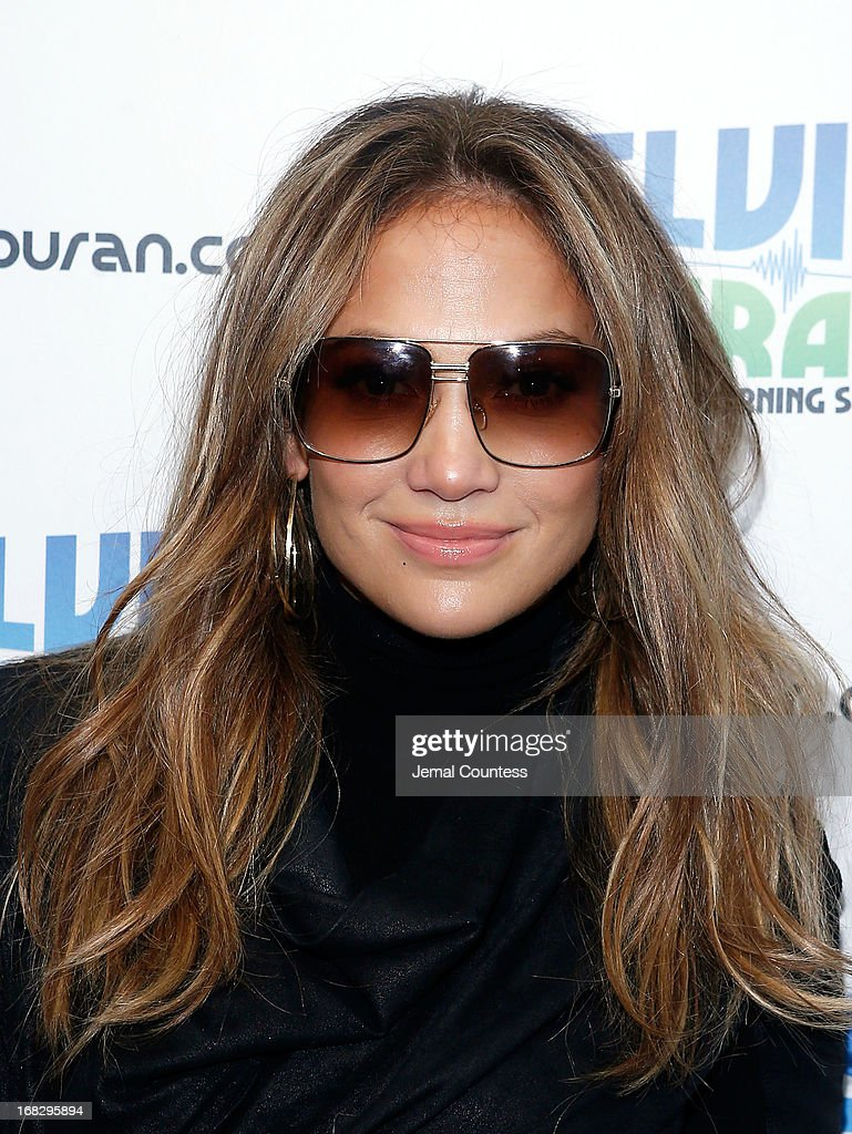 Singer Jennifer Lopez at Z100 Studio on May 8, 2013 in New York City.