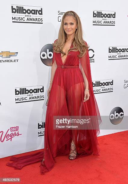 Singer Jennifer Lopez attends the 2014 Billboard Music Awards at the MGM Grand Garden Arena on May 18 2014 in Las Vegas Nevada