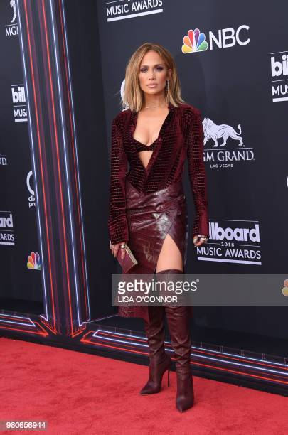Singer Jennifer Lopez attends the 2018 Billboard Music Awards 2018 at the MGM Grand Resort International on May 20 in Las Vegas Nevada