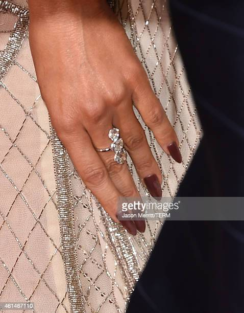 Singer Jennifer Lopez attends the 72nd Annual Golden Globe Awards at The Beverly Hilton Hotel on January 11 2015 in Beverly Hills California