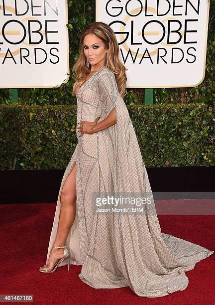 Singer Jennifer Lopez attends the 72nd Annual Golden Globe Awards at The Beverly Hilton Hotel on January 11, 2015 in Beverly Hills, California.
