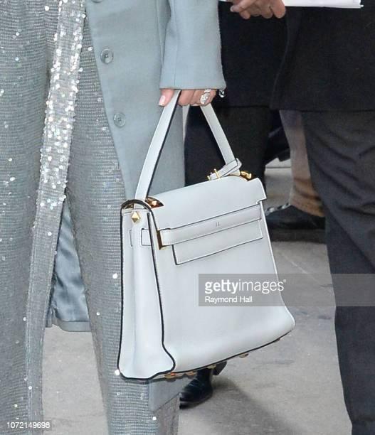 Singer Jennifer Lopez is seen outside Good Morning America on December 12 2018 in New York City