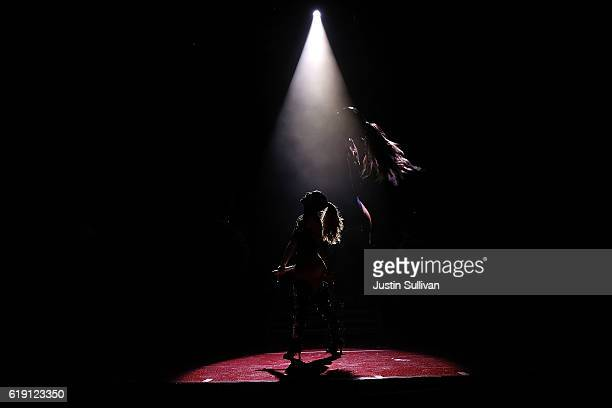 Singer Jennifer Lopez performs during a Get Out The Vote concert for Democratic presidential nominee former Secretary of State Hillary Clinton on...