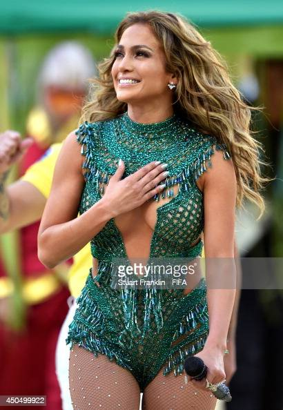 This is what Jennifer Lopez wore during the Opening