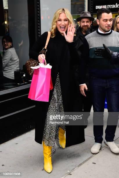 Singer Jennifer Nettles is seen walking in SoHo on November 27 2018 in New York City