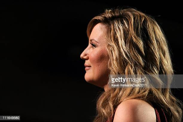 Singer Jennifer Nettles of Sugarland onstage during ACM Presents Girls' Night Out Superstar Women of Country concert held at the MGM Grand Garden...