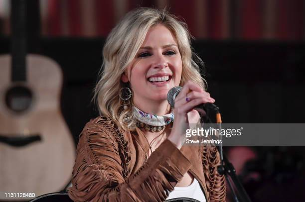 Singer Jennifer Wayne of Runaway June performs at Yountville Live at the Barrel Room on March 16 2019 in Yountville California