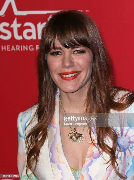 Singer Jenny Lewis attends the 2015 MusiCares Person of the Year Gala honoring Bob Dylan at the Los Angeles Convention Center on February 6 2015 in...
