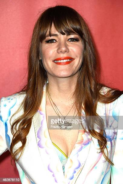 Singer Jenny Lewis attends the 25th anniversary MusiCares 2015 Person Of The Year Gala honoring Bob Dylan at the Los Angeles Convention Center on...