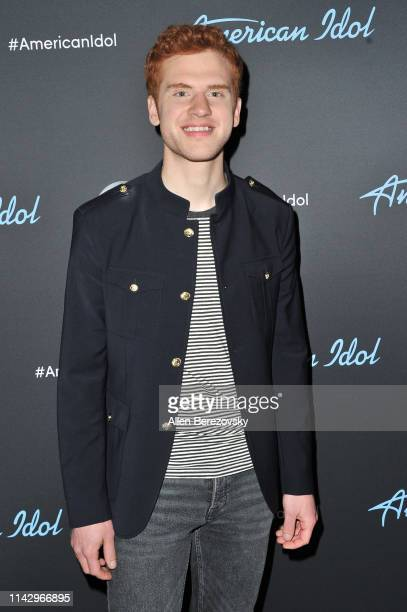 Singer Jeremiah Lloyd Harmon poses for a photo after ABC's American Idol live show on April 15 2019 in Los Angeles California