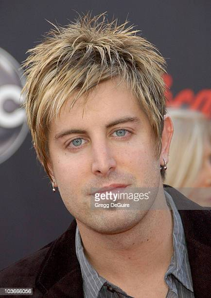 Singer Jeremy Camp arrives at the 2007 American Music Awards at the Nokia Theatre on November 18 2007 in Los Angeles California