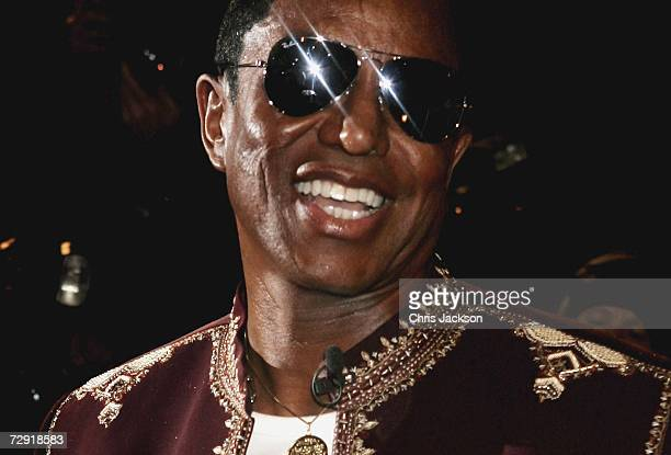 Singer Jermaine Jackson arrives for Celebrity Big Brother series five at Elstree Studios on January 3 2006 in London England