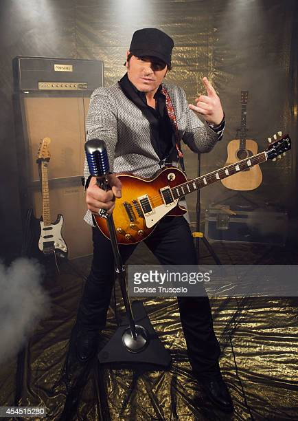 Singer Jerrod Niemann poses for a portrait at the Academy of Country Music Awards for People Magazine on April 6 2014 in Las Vegas Nevada