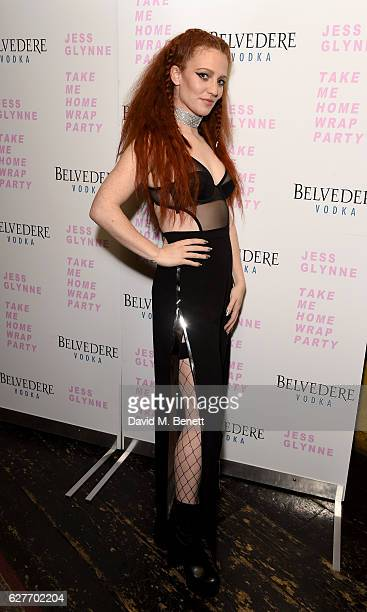 Singer Jess Glynne attends the Take Me Home tour wrap party at The Box on December 4 2016 in London England