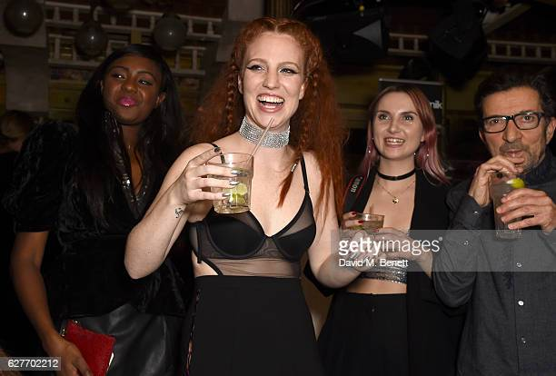 Singer Jess Glynne attends the 'Take Me Home' tour wrap party at The Box on December 4 2016 in London England