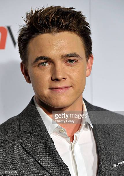 Singer Jesse McCartney arrives at 7th Annual Teen Vogue Young Hollywood Party at MILK Studios on September 25 2009 in Los Angeles California