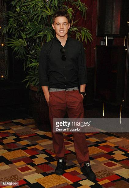Singer Jesse McCartney attends his listening party at KOI at Planet Hollywood Resort Casino on May 15 2008 in Las Vegas Nevada